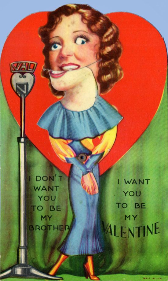 99e861a80df8b34f3225261a19a86d6f--vintage-valentine-cards-funny-valentine