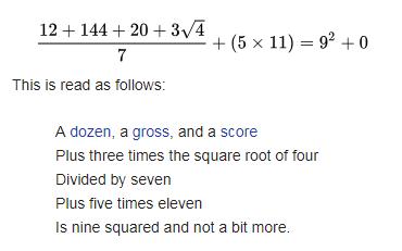 Math Limerick