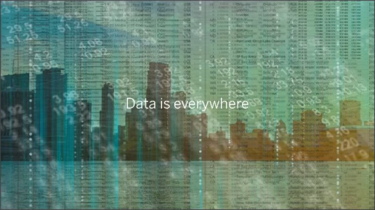 Data is Everywhere