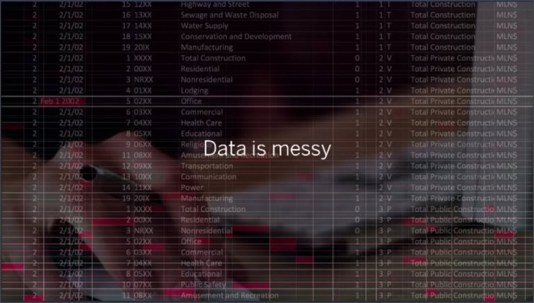 Data is Messy