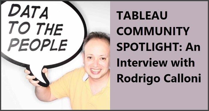 Tableau Community Spotlight  An Interview With Rodrigo
