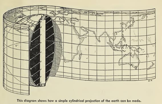 Cylindrical Project of the Earth