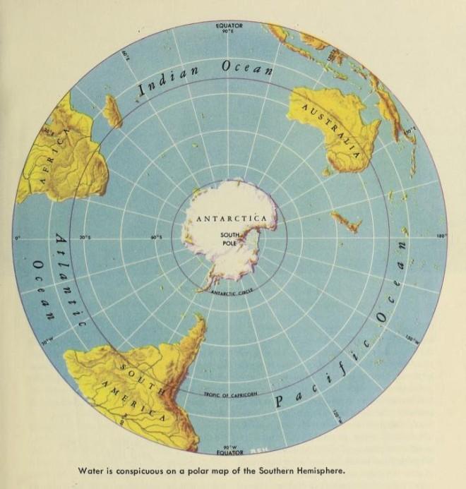 Polar Map - South