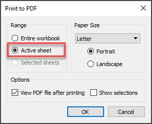 Print to PDF