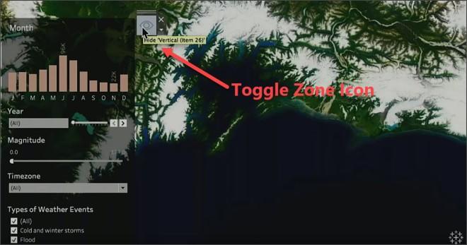 Toggle Zone 2