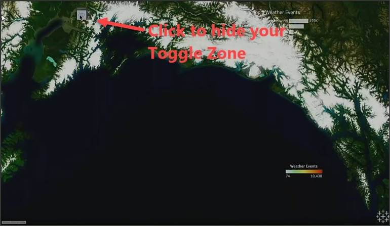 Toggle Zone 3